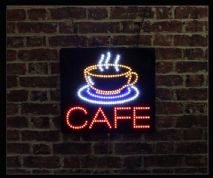 Cafe LED Sign
